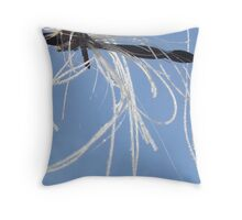 Horse hair Throw Pillow