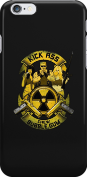 Kick Ass and Chew Bubble Gum! by R-evolution GFX