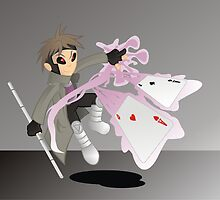 Gambit by flipcartoon