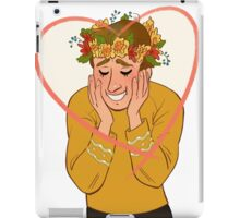 Captain James T. Kirk Valentine iPad Case/Skin