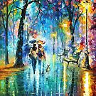 Little Friend — Buy Now Link - www.etsy.com/listing/175268978 by Leonid  Afremov