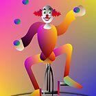 clowning by TRACY BAGNALL