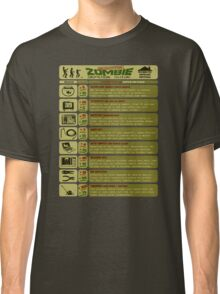 Zombie Defense Guide Classic T-Shirt