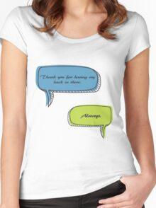 Caskett Women's Fitted Scoop T-Shirt