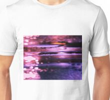 Abstract Purple Water Unisex T-Shirt