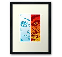 Good and Evil Framed Print