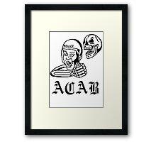 all cops Framed Print