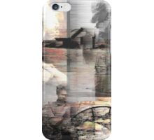 Dust in the wind: a compilation of faces from the Dust bowl. iPhone Case/Skin