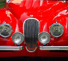 The art of the car: Jaguar XK120 (1953) by John Schneider