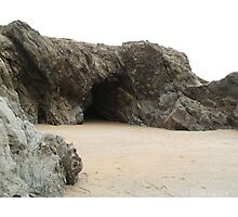 Pollyjoke Beach - Newquay - Cornwall Photographic Print