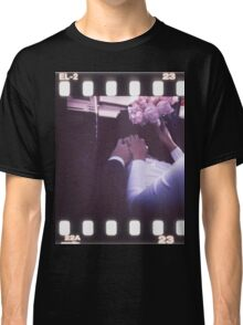 Wedding bride and bridegroom in car 35mm slide film strip Classic T-Shirt