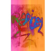 Colorful graffitis Photographic Print