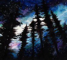 space (trees 2) by marlene freimanis