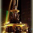 Golden Fountain by Charmiene Maxwell-batten
