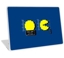 Pac Man Busted! -pixel version-  Laptop Skin