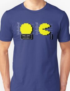 Pac Man Busted! -pixel version-  Unisex T-Shirt