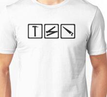 Hammer folding rule saw Unisex T-Shirt