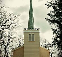 Old English Church - St Thomas ONT by lisabella