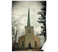 Old English Church - St Thomas ONT Poster