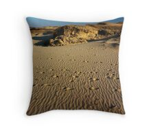 Sea Of Sand Throw Pillow