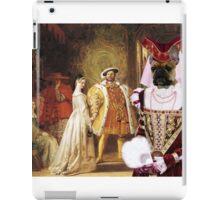 French Bulldog Art - HENRY VIII'S FIRST INTERVIEW WITH ANNE BOLEYN iPad Case/Skin