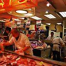 Buckley's butcher shop by Nancy Huenergardt