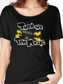Turn Up The Music! Women's Relaxed Fit T-Shirt