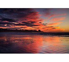 Sunset on La Jolla, California Photographic Print