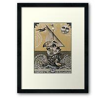 Teacup Travelers Framed Print