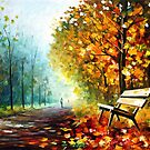 Autumn Park 2 — Buy Now Link - www.etsy.com/listing/165756742 by Leonid  Afremov