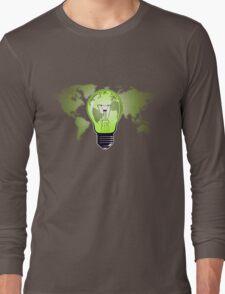 The Green Glow Long Sleeve T-Shirt