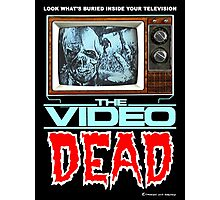 THE VIDEO DEAD Horror -Shirt Photographic Print