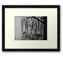 Crying Framed Print