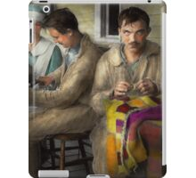 Sewing - Knitting helps me to relax... 1917 iPad Case/Skin