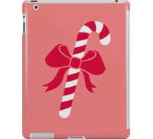 Candy cane bow iPad Case/Skin