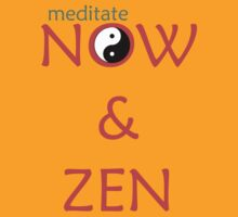 Meditate Now & Zen by Paul Rumsey