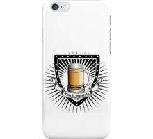 beer shield iPhone Case/Skin