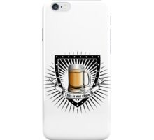 beer shield iPhone Case/Skin