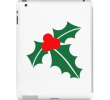 Holly christmas iPad Case/Skin