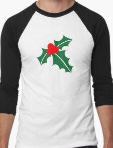 Holly christmas Men's Baseball ¾ T-Shirt