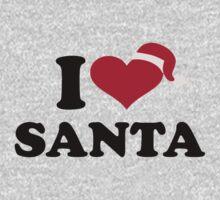 I love Santa claus Kids Clothes