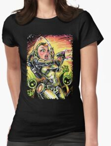 Space Girl 20 Womens Fitted T-Shirt