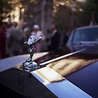 Rolls Royce in wedding analog medium format Hasselblad film photograph by edwardolive