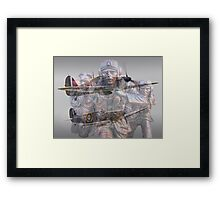 Scramble 75 Years On - The Battle of Britain Framed Print