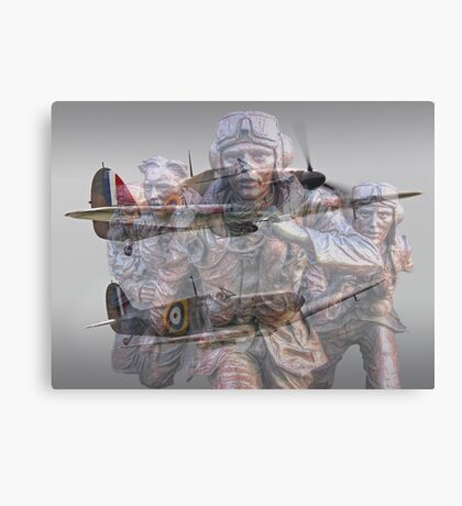 Scramble 75 Years On - The Battle of Britain Canvas Print