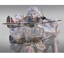 Scramble 75 Years On - The Battle of Britain Photographic Print