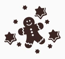 Lebkuchen Gingerbread man One Piece - Short Sleeve