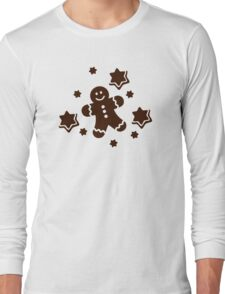 Lebkuchen Gingerbread man Long Sleeve T-Shirt
