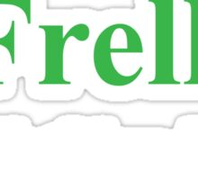 Frakkin' Frell!  Sticker