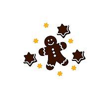 Lebkuchen gingerbread cookies Photographic Print